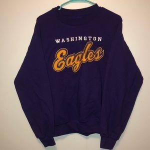 Washington Eagles comfy Crewneck